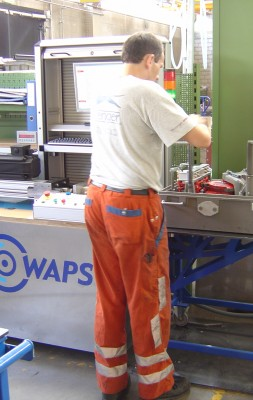 WAPS – railway point drive test bench